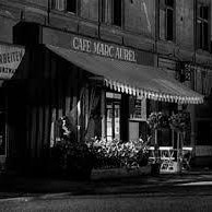 at the cafe marcus aurelius
